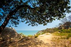 Tropical landscape of Hua Hin Stock Photo