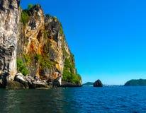 Tropical landscape. The island at Andaman sea, Thailand. Tropical landscape. The island at Andaman sea at Thailand Royalty Free Stock Images