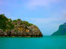 Tropical landscape. The island at Andaman sea, Thailand Royalty Free Stock Images