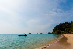 Tropical landscape of Koh Chang Stock Image