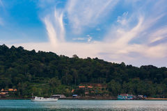 Tropical landscape of Koh Chang Royalty Free Stock Images