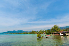 Tropical landscape of Koh Chang Royalty Free Stock Photography
