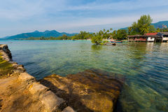 Tropical landscape of Koh Chang Stock Images