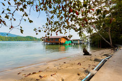 Tropical landscape of Koh Chang Royalty Free Stock Image