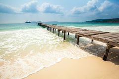 Tropical landscape of Koh Rong Stock Photography