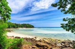 Tropical landscape. Phi-phi island, Thailand Royalty Free Stock Photo