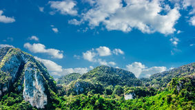 Tropical landscape in Phuket Royalty Free Stock Images