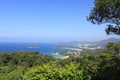 Tropical landscape. View from the viewpoint Stock Photos