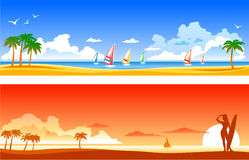Tropical Landscapes Stock Images