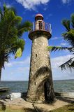 Tropical lighthouse Stock Photos