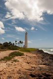 Tropical lighthouse. Barber's Point Lighthouse, Oahu, Hawaii Royalty Free Stock Images