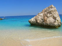 Tropical-like beach in Sardinia, Italy Royalty Free Stock Photography