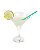 Tropical lime cocktai. Royalty Free Stock Photo