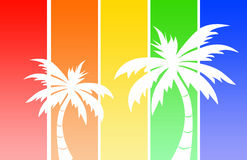 Tropical logo Stock Images