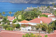 Tropical luxury home Stock Photos