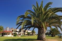 Tropical Luxury House Stock Image