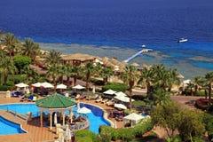 Tropical luxury resort hotel, Sharm el Sheikh, Egypt. Stock Photography