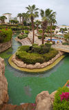 Tropical luxury resort hotel, Sharm el Sheikh, Egypt. Stock Images