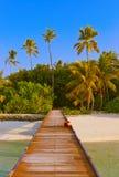 Tropical Maldives island Stock Photos