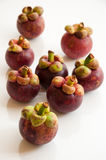 Tropical mangosteens fruit Royalty Free Stock Photo