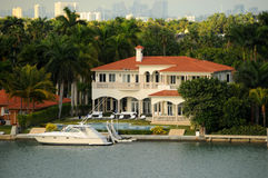 Tropical mansion Royalty Free Stock Images