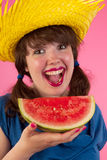 Tropical melon Royalty Free Stock Images
