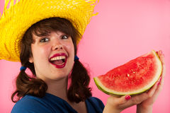 Tropical melon Royalty Free Stock Image