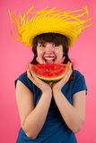 Tropical melon Royalty Free Stock Photo