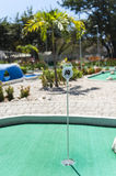 Tropical Mini Golf Course Stock Images