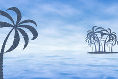 Tropical Mist. Graphic illustration of Tropical Mist Stock Image