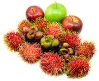 Tropical mix fruit Stock Image
