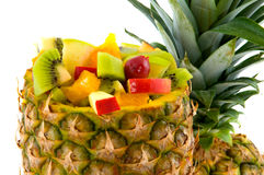 Tropical mixed fruit Royalty Free Stock Photos