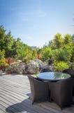 Tropical Modern Garden Royalty Free Stock Image