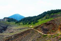 Tropical Mountain stock photography