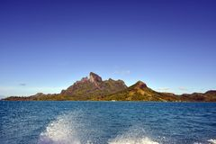 Tropical mountain beauty Stock Images