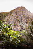 Tropical mountain Royalty Free Stock Photography