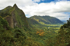 Tropical Mountain Range Royalty Free Stock Photography
