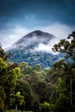 Tropical Mountain Range  Royalty Free Stock Images