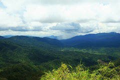 Tropical Mountains. Phu Soi Dao National Park, Thailand Royalty Free Stock Photography