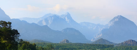 Tropical mountains Stock Photography