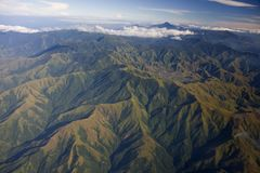 Tropical mountains Stock Images