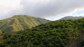 Tropical Mountains Time Lapse. Time Lapse of Hawaiian Mountain Side.  Shot with Professional Camera stock video