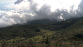Tropical Mountains Time Lapse. Time Lapse of Hawaiian Mountain Side.  Shot with Professional Camera stock video footage
