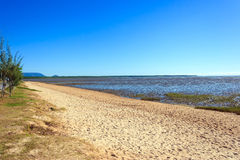 Tropical mudflat beach Stock Image