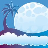 Tropical night Royalty Free Stock Photography