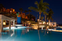 Tropical Nights II. The stars shine above the beautiful Westin resort in Los Cabos Mexico Stock Images