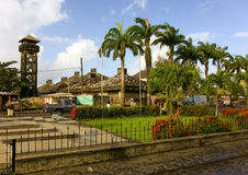 A tropical oasis at kingstown, st. vincent Stock Photography
