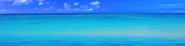 Tropical ocean Stock Photography