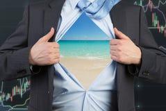 Tropical ocean stock image