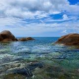 Tropical ocean coast. Thailand, Phuket, Karon. Stock Photos